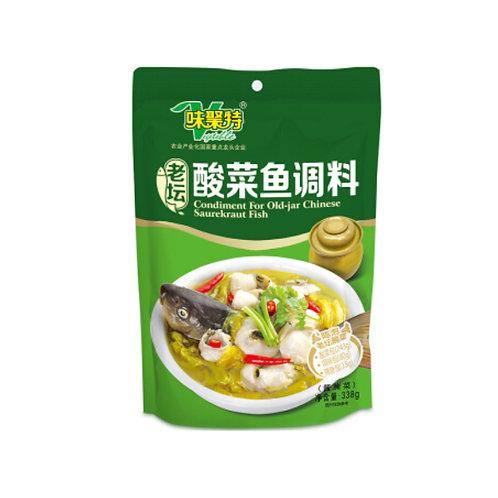 老坛酸菜鱼调料338G