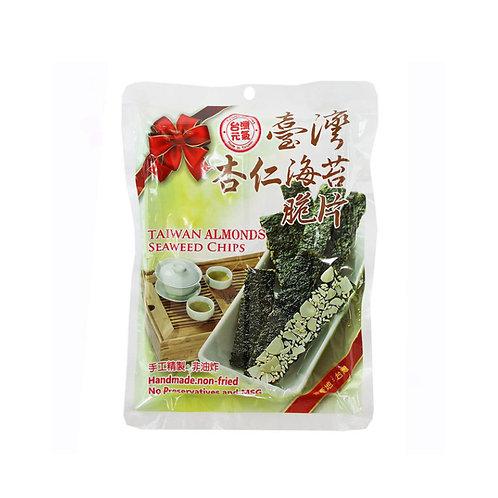 台湾杏仁海苔脆片40G
