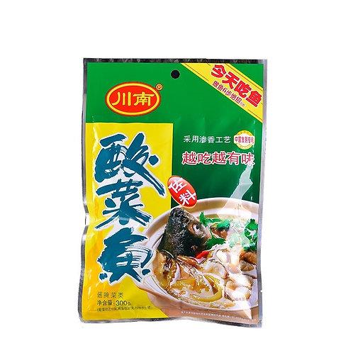 川南酸菜鱼300G