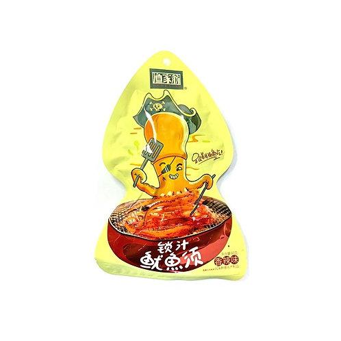 渔家翁锁汁鱿鱼条香辣味60G
