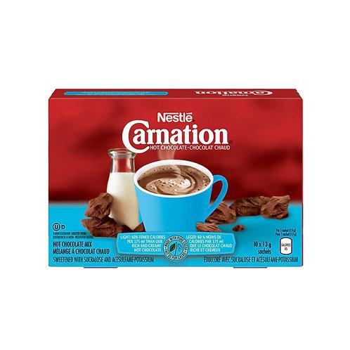"""Nestle Light Hot Chocolate Carnation""10*13g"
