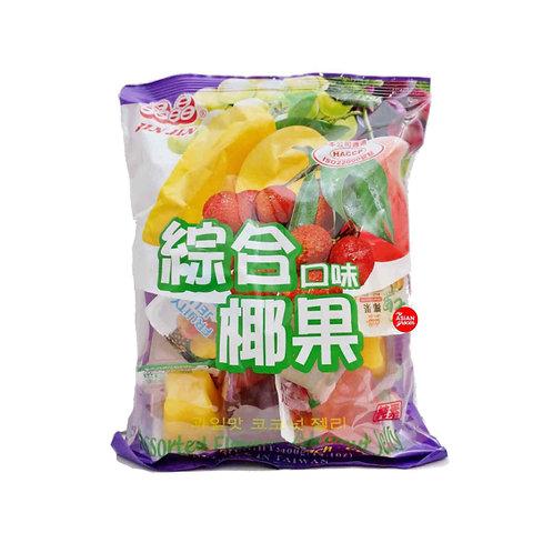 晶晶综合椰果果冻1KG