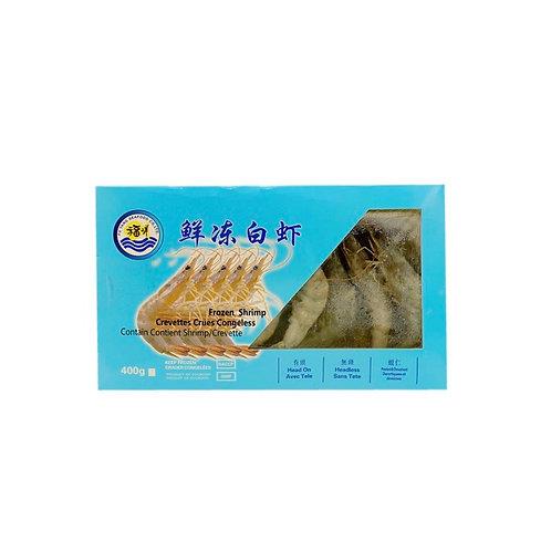 福洋鲜冻白虾400g