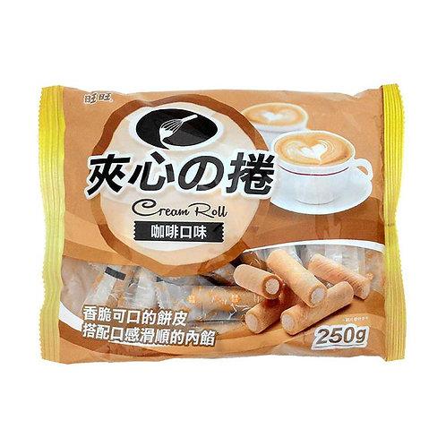 旺旺夹心卷咖啡口味250G