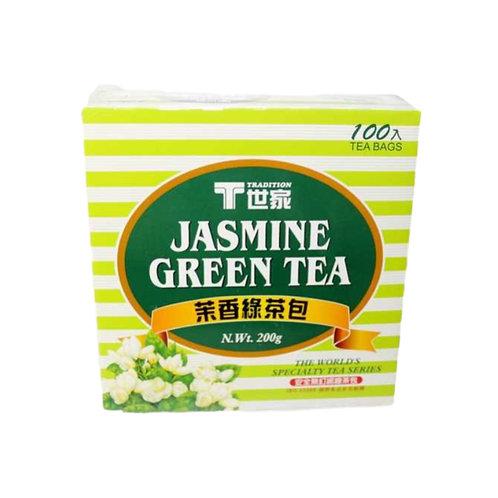 T世家茉香绿茶包100bags