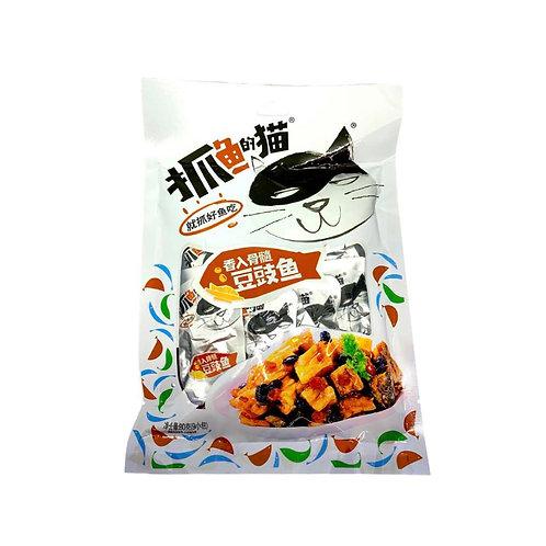 抓鱼的猫豆豉鱼80G