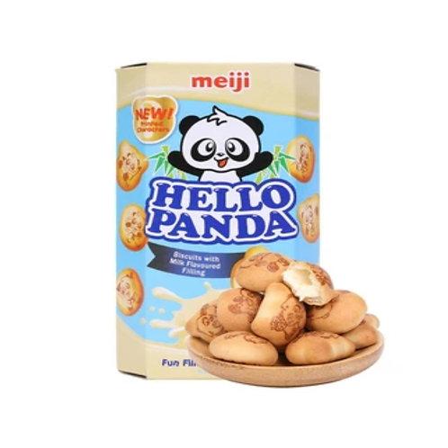 美极熊猫饼干香草味258G