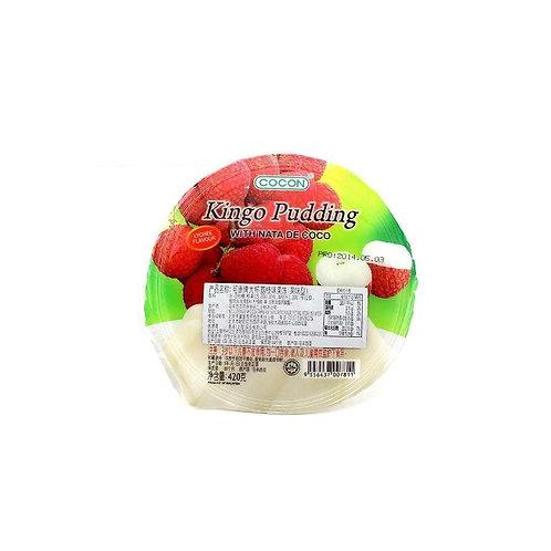 荔枝味果冻布丁420G