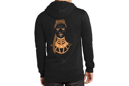 The Genius Zipped Hooded Sweatshirt