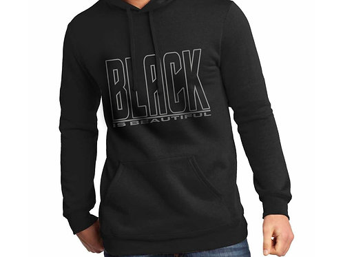 Black is Beautiful Unisex Hooded Sweatshirt