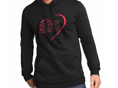 Black Love Unisex Hooded Sweatshirt