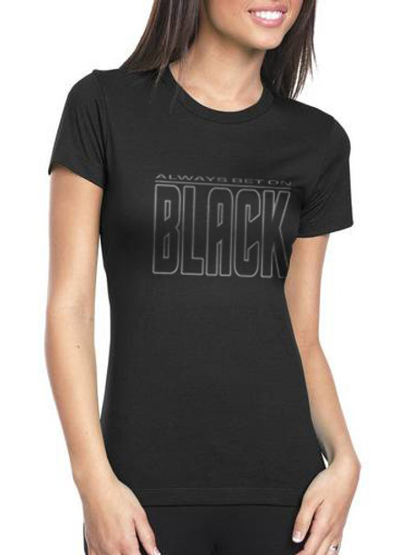 Always Bet on Black Women's T-Shirt