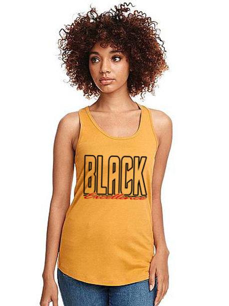 Black Excellence Women's Racerback Tank Top