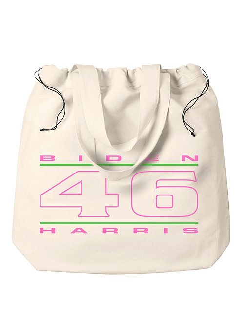 """""""46"""" Pink & Green Tote"""