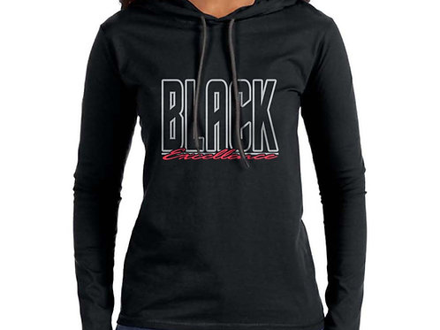 Black Excellence Women's Hooded T-Shirt