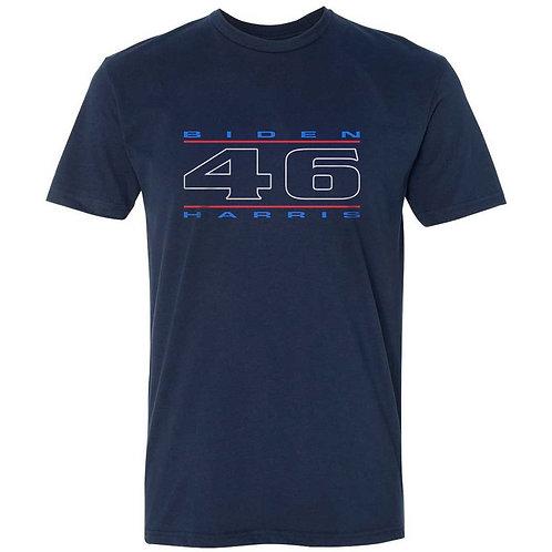 """46"" Red, White & Blue Unisex T-Shirt"