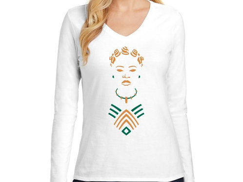 The Advocate Women's Long Sleeve V-Neck