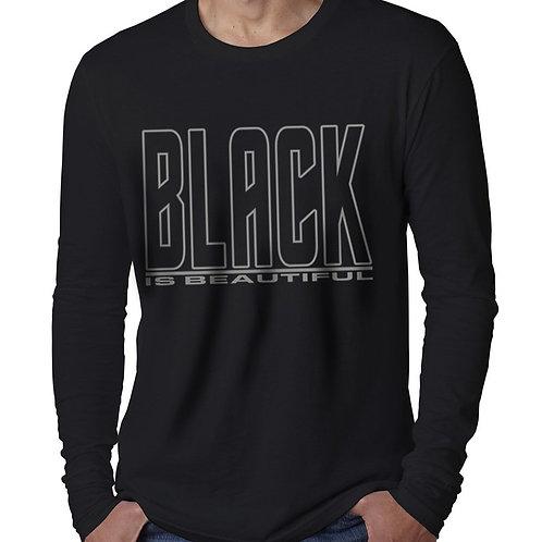 Black is Beautiful Men's Long Sleeve T-Shirt