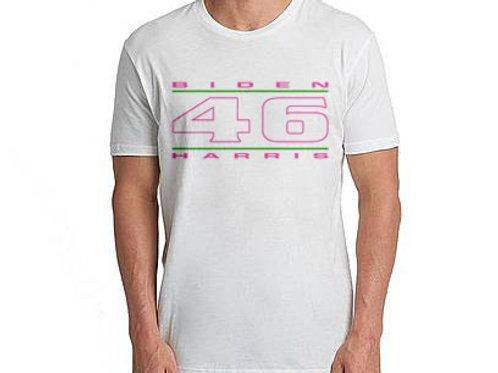 """""""46"""" Pink & Green Unisex T-Shirt"""