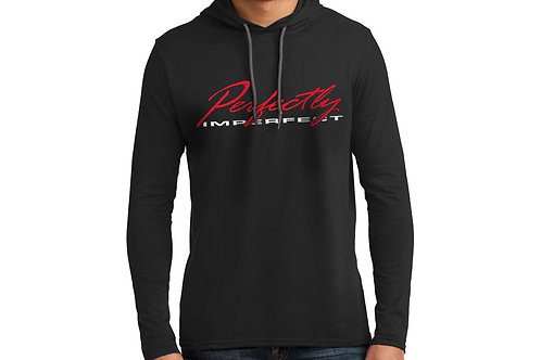 Perfectly Imperfect Men's Hooded T-Shirt