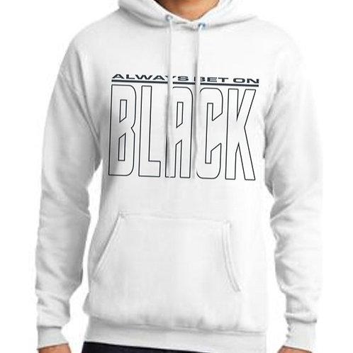 Always Bet on Black (NB) Unisex Hooded Sweatshirt