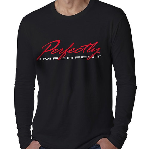 Perfectly Imperfect Men's Long Sleeve T-Shirt
