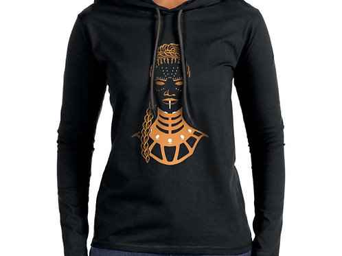 The Genius Women's Hooded T-Shirt