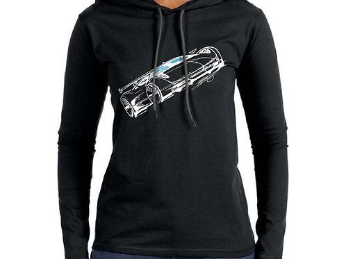 LNS-1 Women's Hooded T-Shirt