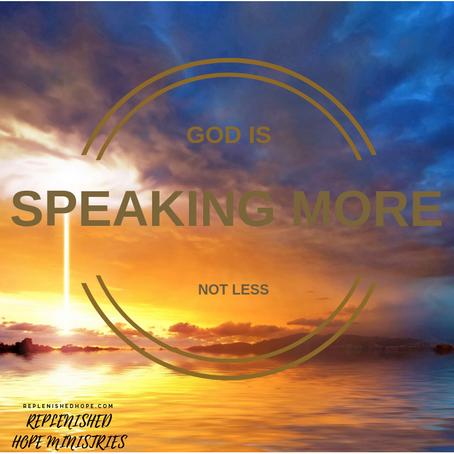 GOD IS SPEAKING