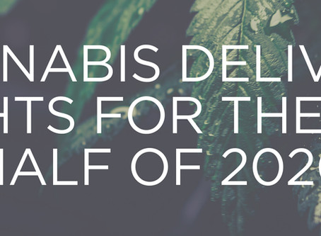 Cannabis Direct to Home Delivery Insights First Half of 2020