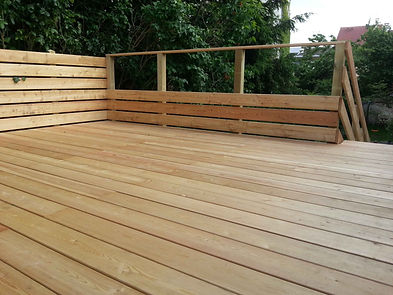 Terrasse bois résineux lmj77 fontenay-sous-bois