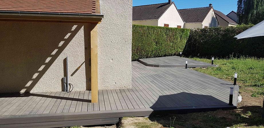 Terrasse composite Fiberdeck Meaux