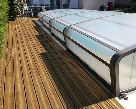 Terrasse bois résineux lmj77magny-le-hongre