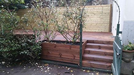 Terrasse bois résineux SERRIS MONTEVRAIN LMJ77