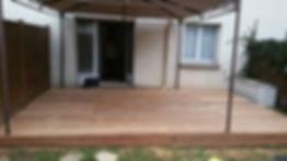 Terrasse bois exotique cumaru montevrain