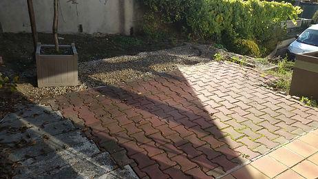 Terrasse bois résineux Serris Chessy Montevrain LMJ77 QUINCY VOISIN