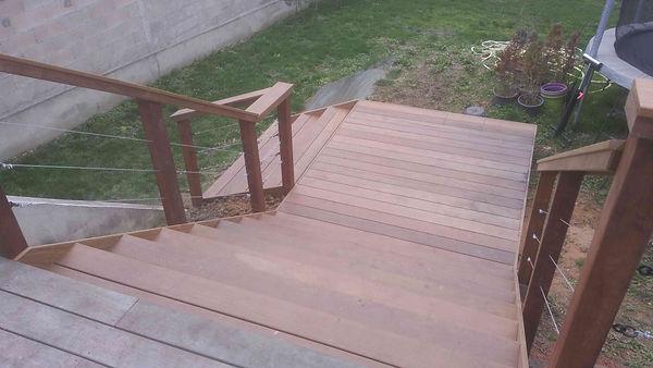 Extension Ipé escalier Terrasse bois Champigny sur marne