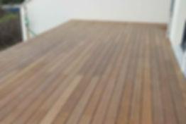 Terrasse bois exotique ipé montevrain Vincennes LMJ77