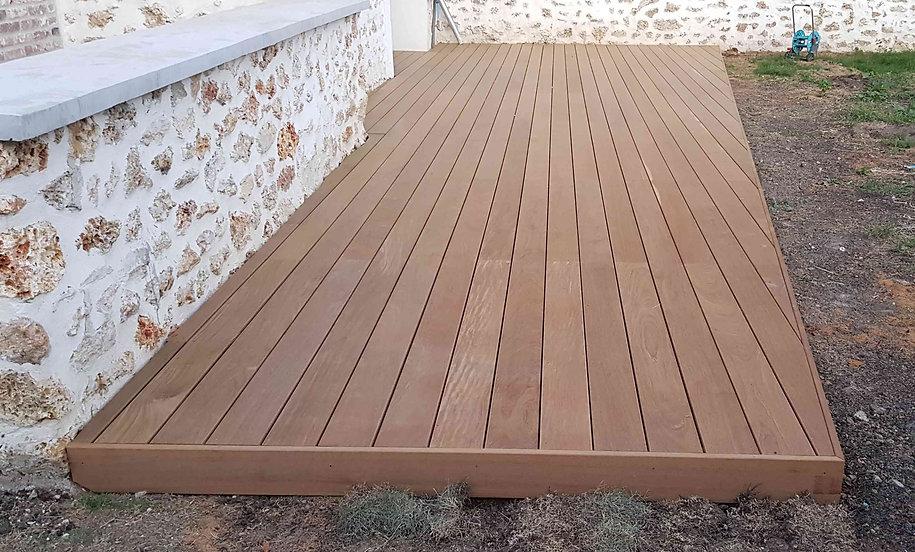 terrasse bois exotique ipé. lmj77