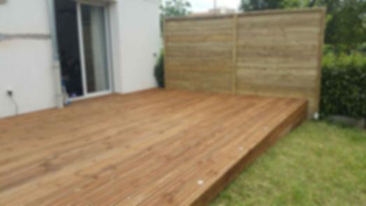 Terrasse bois résineux lmj77 meaux