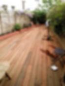 Terrasse bois exotique ipé montevrain LMJ77