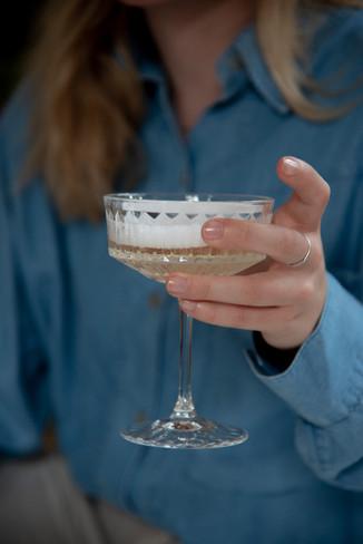 Cheers with Yolisa (@cestyoli)