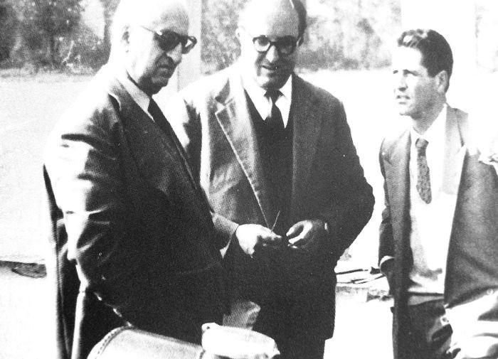 ENZO FERRARI_CARLO CHITI_GIOTTO BIZZARRINI