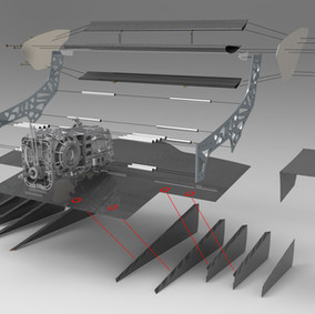 GEARBOX AND AERODYNAMIC PARTS