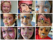 Pinturas Faciais - Princesas e Principes Eventos Infantis