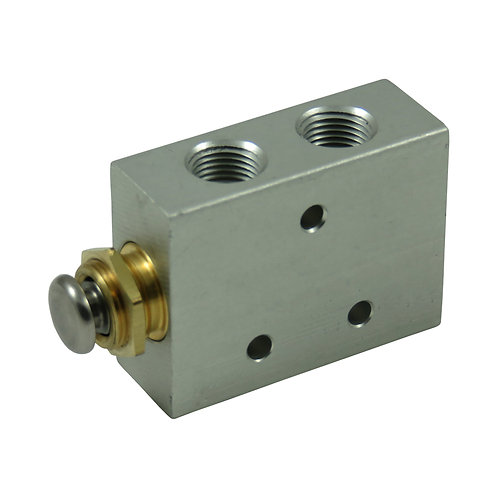 4 Way Push Button Valve