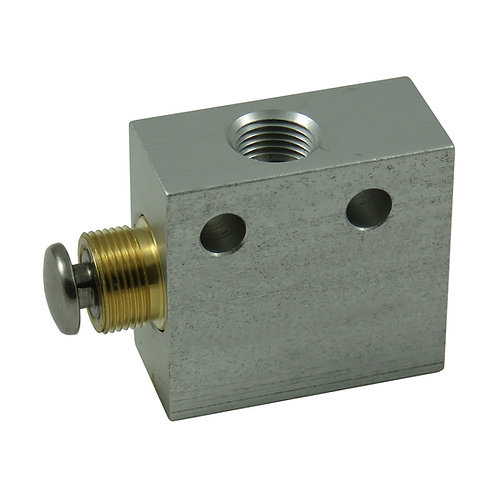 3-Way Push Button Valve
