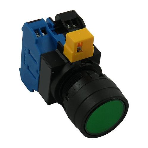 24 V Green Push Button