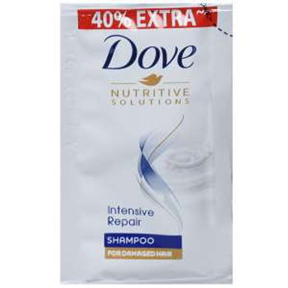Dove Intensive Reapair Shampoo (40% Extra), 4.2 ml × 16pic