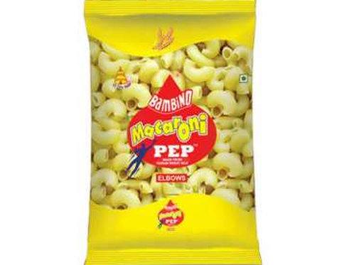 Bambino Pep Macaroni Pasta - 850gm